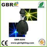 Licht van het Effect van de Dans van de Straal van het Aftasten van Gbr 5r het Lichte