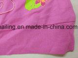 女の子の夏の衣類のTシャツのための100%年の綿の短い袖