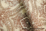 Tela de lujo al por mayor de la cortina del sofá de la tapicería del Chenille del telar jacquar del diseño de la flor
