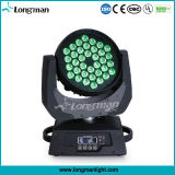 IP20 DMX 36*10W RGBW LED Beam Moving Head for Disco music