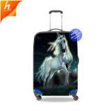 Прелестная спандекс крышки багажного отделения животных Unicorn чемодан покрытия расходов на поездки для принадлежностей