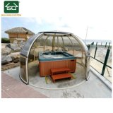 De Retractable Aluminum Frame SPA Dekking van de Pool