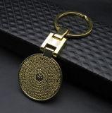 Ricordi su ordinazione di Keychain del metallo di marchio per la promozione