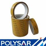 Pet de alto rendimiento de la base de disolvente de la cinta en la alta temperatura