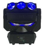 Iluminación móvil ligera del disco de la etapa ligera de la araña de la pista LED de la nueva araña de la llegada 9LEDs*12W los 4in RGBW LED de Rasha