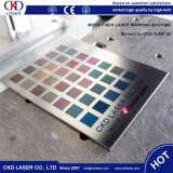 Машина маркировки лазера маркировки логоса цвета случая iPhone металла Mopa