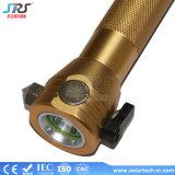 Mejor 3W La Energía Solar Powered linterna LED Manivela y cargador