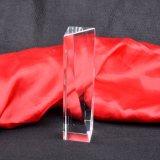 Concesión del trofeo del pilar del vidrio cristalino