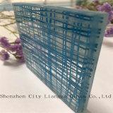 El vidrio laminado ultra claro del emparedado/templó la gafa de seguridad para la decoración