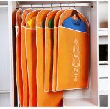 Peça de Bagagem Dobrável Multifunções Non-Woven Saco com bolso PVC