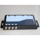 Passivo UHF RFID18000-6ISO c 860-960MHz leitor fixo para o rastreamento de ativos