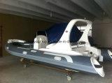 Barca rigida di lusso 6.2m gonfiabile del guscio della nervatura di Liya