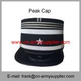 卸し売り安い中国の軍隊の金属のバッジの警察の軍のピーク帽子