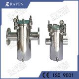 Tipo setaccio del cestino del filtro da acqua dell'acciaio inossidabile SUS304