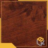 床、ドア、ワードローブの中国の工場からの表面の家具の表面のための赤いカシ木穀物デザイン印刷の装飾的なペーパー