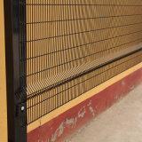 Revestimento a pó preto segurança prisional curvos 358 paralela lateral