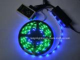 Lámpara flexible de la tira de la luz LED de la cuerda del RGB del disco del pixel de la magia IP67 5050 con el IC