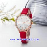 Reloj de señoras al por mayor del acero inoxidable del reloj (WY-17035C)