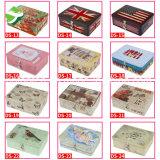 Alimento de la venta/regalo/caramelo/té/rectángulo calientes del estaño de Chocolatetin con el bloqueo