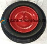 다채로운 변죽 (3.50-8)를 가진 편평하 자유로운 PU 바퀴