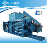 Máquina hidráulica semiautomática horizontal de la prensa Hbe100-110110 para el papel usado