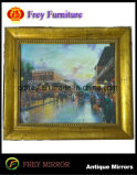 أثاث لازم خشبيّة زخرفيّة بينيّة من صورة/مرآة إطار