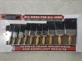 Деревянный комплект щетки краски ручки с рынком черной щетинки материальным UK