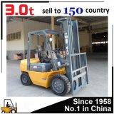 Gabelstapler 3ton mit dem Anheben von 3-6 Metern hergestellt in China