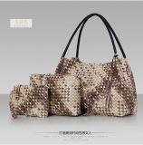 Тканый PU Hobo Bag установить пакет муфты сумки подушки безопасности