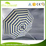 가득 차있는 자동은 3개의 단면도 열 투명한 우산을 근접하여 연다