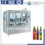 Spremuta automatica con la bottiglia gassosa dell'animale domestico della bevanda della fragola della polpa della bevanda della soda calda dell'acqua