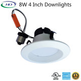 UL ES 증명서를 가진 8W LED 개장 장비 Downlight