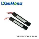 bateria de lítio de 11.1V 6000mAh 18650 para a energia alternativa