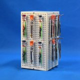 Стойка индикации POS закручивать металла сторон счетчика 4 (PHD8014A)