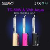 Vaporizzatore del boccaglio del Aqua di Seego Vhit & kit rotativi del dispositivo d'avviamento di E-Cig della batteria di Tc-50W 2000mAh