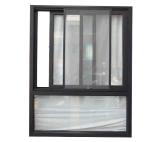 Aluminiumprofil-dekoratives schiebendes Fenster in China