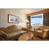 Quarto de hotel 5 estrelas de luxo situado nupcial do mobiliário de estilo europeu (S.003)