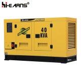 Water-Cooled 디젤 엔진 발전기 세트 침묵하는 닫집 (GF2-40KW)