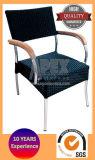 Presidenza di vimini della mobilia esterna di alluminio con il bracciolo di legno (AS1018ARW)