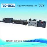 A linha de produção de plástico de alta capacidade para tubo de PVC 315-630mm