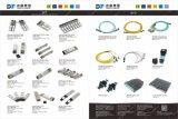 Divisor do PLC da câmara de ar do aço inoxidável da fibra de 1*4 G657A1 com conetor de Sc/APC