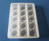 15 Wegwerfplastikmehlkloß-Tellersegment PCS-pp. mit freier Kappe
