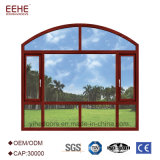 tissu pour rideaux en aluminium Windows de Windows de remplacement d'épaisseur de 1.4mm