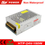 alimentazione elettrica di commutazione del trasformatore AC/DC di 24V 6A 150W LED Htp