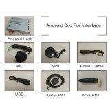 Navegación GPS Android Video Interface Box para VW Touareg Rns850 Enlace espejo, echa la pantalla, el control de voz