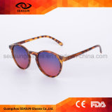 Beste Weinlese-Mann-Frauen-runde polarisierte kundenspezifische Marken-Sonnenbrillen