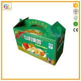 con il contenitore di carta di imballaggio della frutta della maniglia