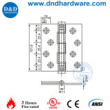 Aço inoxidável articulada para a porta com a norma Bhma