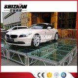 Алюминиевый складывая этап Toughend стеклянный для выставки выставки/автомобиля/согласия