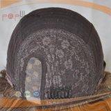 絹の上100%の人間の毛髪のかつら(PPG-l-0314)